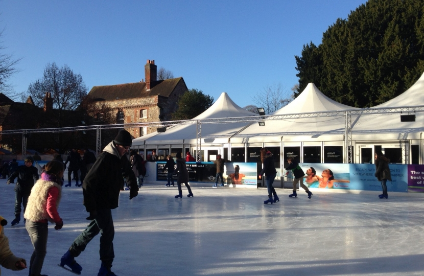 Winchester Christmas Ice Rink