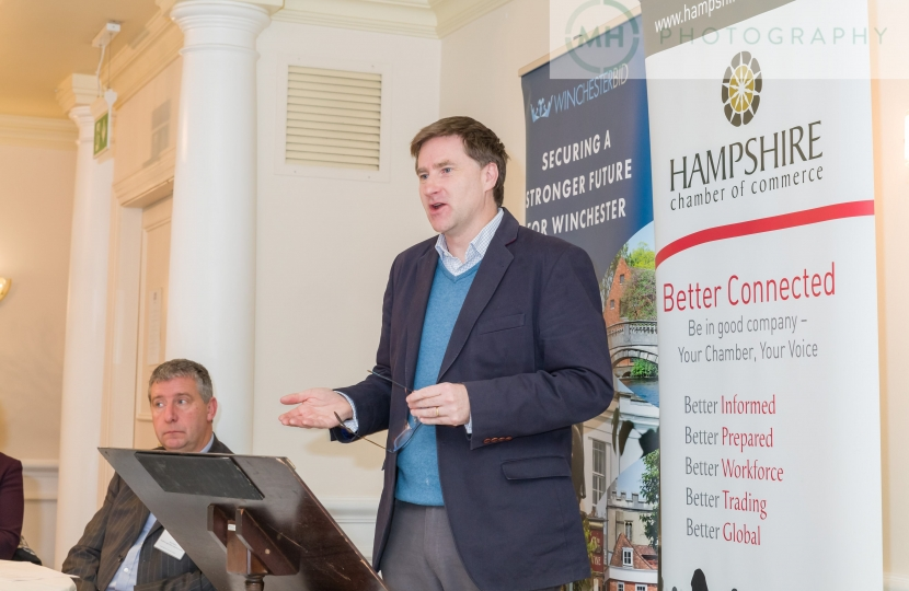 MP addresses Business Breakfast