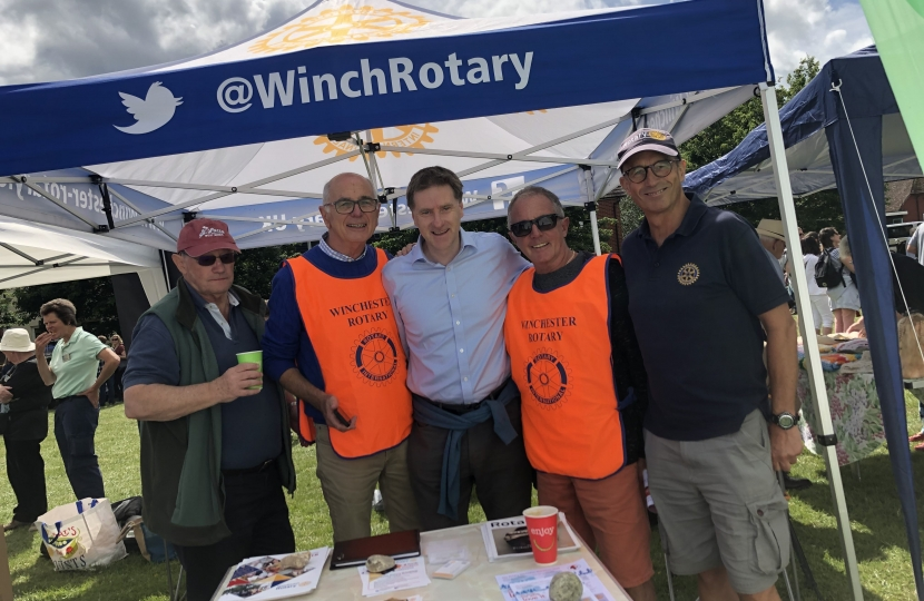 Winchester Rotary KW Fete 2019