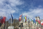 Parliament Square flags