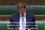 Embedded thumbnail for Steve raises Amazon rainforest clearance in Parliament